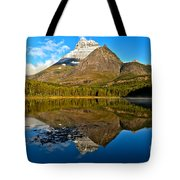 Fishercap Snowcap Reflections Tote Bag