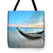 Fisherman Boat Tote Bag