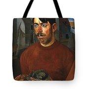 Fisherman Boris Grigoriev Tote Bag