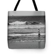 Fisherman - Costa Del Sol - El Salvador Bnw V Tote Bag