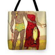 Fisherman Tote Bag by Hawaiian Legacy Archives - Printscapes