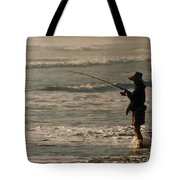 Fisherman Tote Bag by Steve Karol