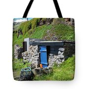 Fisherman's Hut Priest's Cove Cape Cornwall Tote Bag