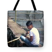 Fisherman's Lunch Tote Bag