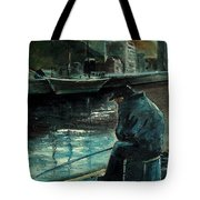Fisherman's Patience Tote Bag