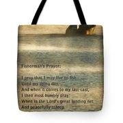Fisherman's Prayer Tote Bag