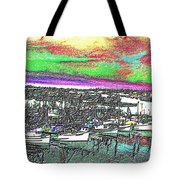 Fishermans Terminal 2 Tote Bag
