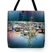 Fishermans Terminal 3 Tote Bag