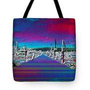 Fishermans Terminal Pier Tote Bag