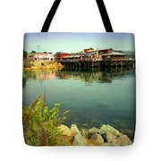 Fishermans Wharf Monterey Ca II Tote Bag