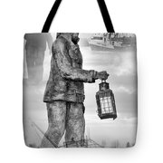 Fishermen - Jersey Shore Tote Bag