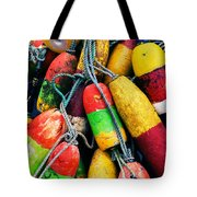 Fishermen's Floats Tote Bag