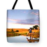 Fisherwoman Tote Bag