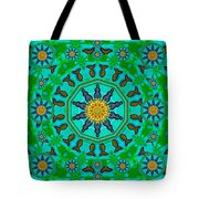 Fishes In Freedom Under The Sun Tote Bag