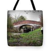 Fisheye Bridge Tote Bag
