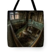Fisheye From Above Tote Bag
