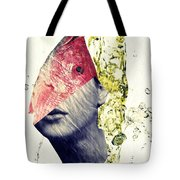 Fishhead Tote Bag