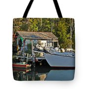 Fishhut And Invictus Tote Bag