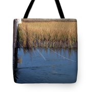 Fishin' Lines Tote Bag