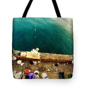 Fishing Beirut  Tote Bag