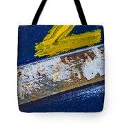 Fishing Boat Abstract Tote Bag