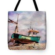 Fishing Boat At Aldeburgh Tote Bag