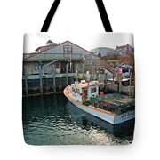 Fishing Boat At Chatham Fish Pier Tote Bag