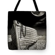 Fishing Boat Graveyard 3 Tote Bag by Meirion Matthias