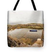 Fishing Boat In Lambs Head Harbor Tote Bag