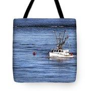 Fishing Boat Return Tote Bag