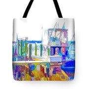 Fishing Boats 2 Tote Bag