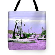 Fishing Boats At Pearl Beach 1.0 Tote Bag