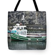 Fishing Boats Clarnlough Northern Ireland Tote Bag