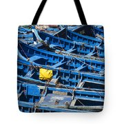 Fishing Boats In Morocco Tote Bag