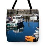 Fishing Boats, Rockport, Ma Tote Bag