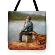 Fishing - Booze Hound 1922 Tote Bag