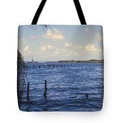 Fishing Cove Tote Bag