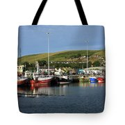 Fishing Fleet At Dingle, County Kerry, Ireland Tote Bag