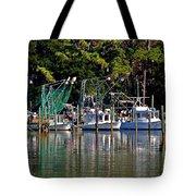 Fishing Fleet Tote Bag