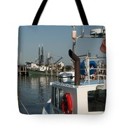 Fishing Fleet Tote Bag