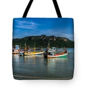 Fishing Harbour Tote Bag