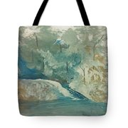 Fishing Hole Tote Bag
