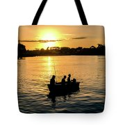 Fishing In Auckland Tote Bag