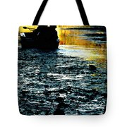Fishing In The Pond Tote Bag