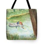 Fishing Lake Tanko Tote Bag