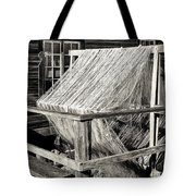 Fishing Nets Wound On Spool Tote Bag