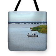 Fishing On The Flats Tote Bag