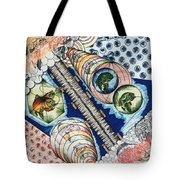 Fishing Over The Object Tote Bag
