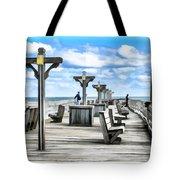 Fishing Pier 13 Tote Bag