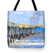 Fishing Pier 4 Tote Bag